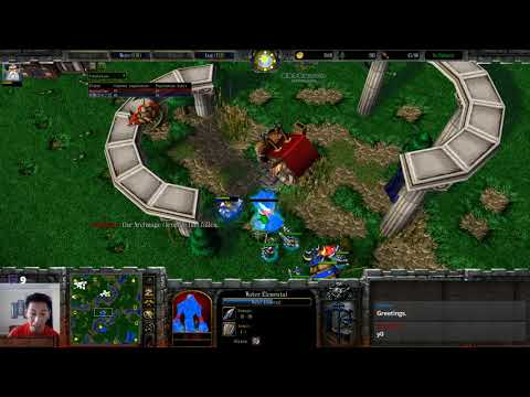 Blade (HU) vs Infi (HU) - I shouldn't be Alive - WarCraft 3 - WC2154