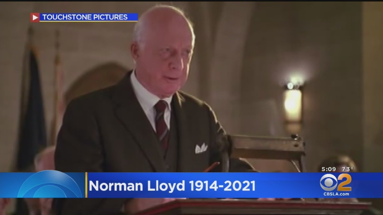 Norman Lloyd, Who Got His Acting Start During The New Deal, Dies ...