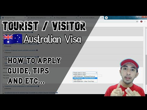 Australia Tourist Visa Application Steps, Tips, Requirements, Documents (2019)