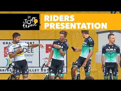 Cérémonie de présentation des coureurs - Tour de France 2018