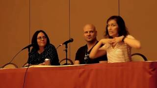 Kill la Kill panel at Saboten Con 2016 with Erica Mendez, David Vin...