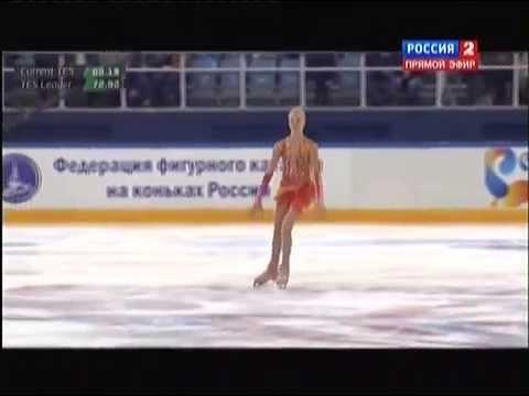 Чемпионат России по фигурному катанию 2015. FS. Анна Погорилая