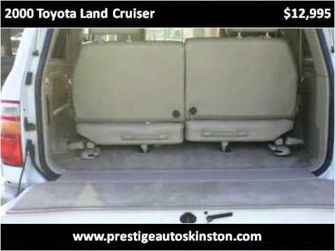 2000 Toyota Land Cruiser Used Cars Kinston NC