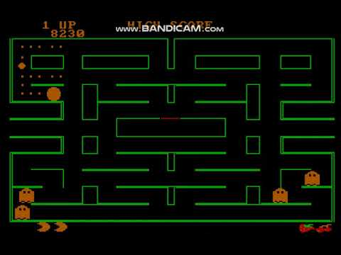 Pac-Man (1983) PC Booter - CGA (4 Colores)