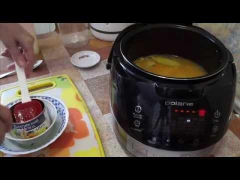 Домашние видео рецепты - рыбный суп в мультиварке