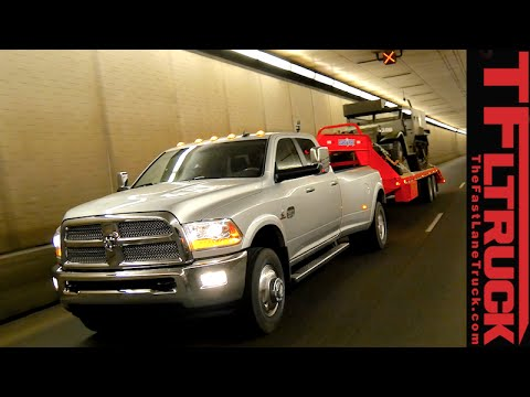 2015 Ram 3500 takes on the extreme Ike Gauntlet towing review