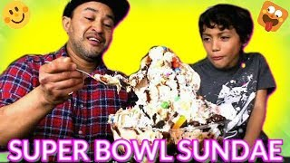 Super Bowl Sundae - Six lbs Ice Cream Sundae thumbnail