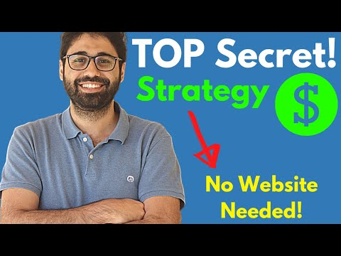 Top Secret Affiliate Marketing Strategy - No Website Required!