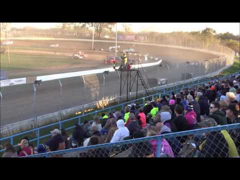 Super Late Model Heat #1 from Florence Speedway, October 22nd, 2016.