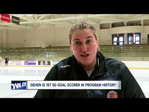 Erin Gehen Making Mark On Buffalo State Women's Hockey Program