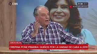 19-11-2018 - Carlos Heller en C5N - M1, con Darío Villarruel - Discurso CFK en #CLACSO2018