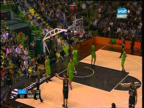 Lyon-Villeurbanne vs Nancy 77-92 (LNB PRO A # 5ème Journée # 06/11/11)