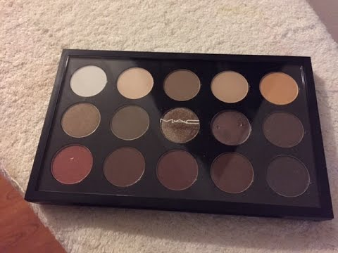 Make own eyeshadow palette mac