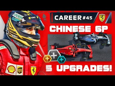 F1 2019 Career Mode Part 45: FIVE UPGRADES FOR ONE RACE