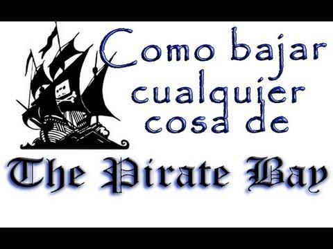 Como descargar GRATIS de The pirate bay FACILÍCIMO