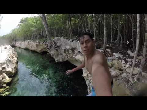 Cenote tres zapotes GoPro