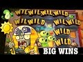 ★BIG WINS★ PLANTS vs ZOMBIES 3D slot machine max bet BIG WIN BONUSES!