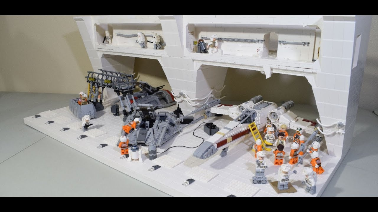 lego echo base moc youtube