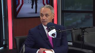MLB Commish Rob Manfred Responds to Players Union Free Agency Complaints | The Rich Eisen Show