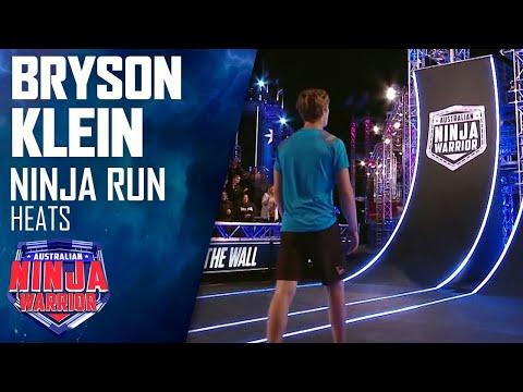 Bryson Klein's epic Mega Warped Wall run   Australian Ninja Warrior 2019