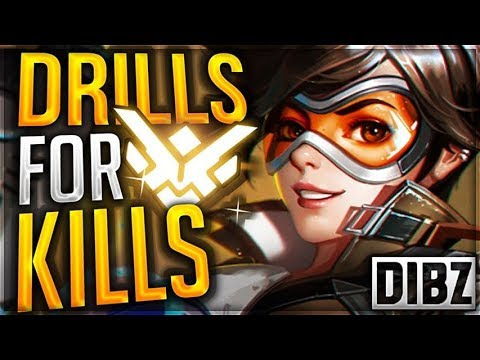 DRILLS FOR KILLS: Overwatch In-Depth Tracer Drills For Insane Tracking!