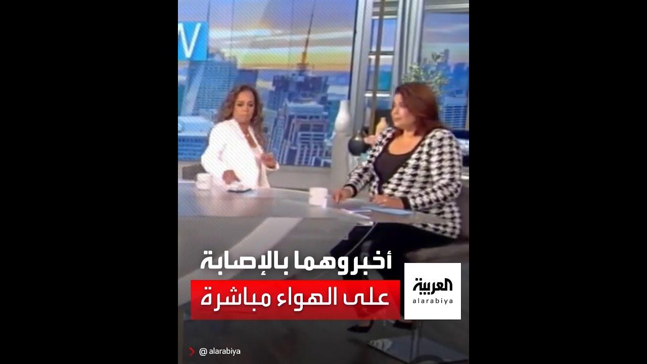 إخبار مذيعتين بإصابتهما بكورونا على الهواء مباشرة  - 21:55-2021 / 9 / 24