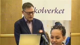 Presskonferens: Slutliga förslag på reviderade kurs- och ämnesplaner