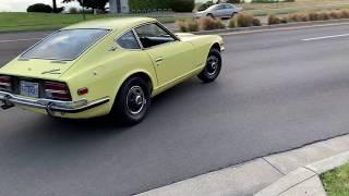 1970 Datsun 240z Driving Demo
