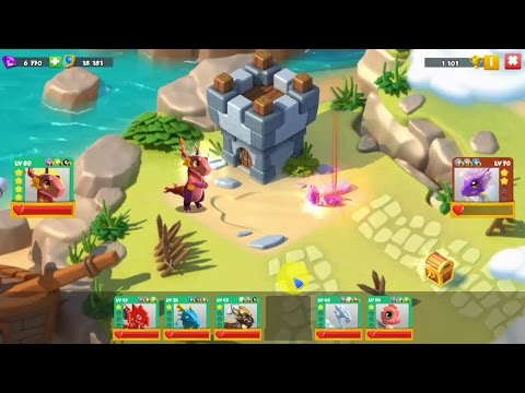 Do anything with Autumn lv 80 4 star - Dragon Mania Legends