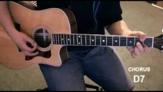 """Makes Me Happy"" - Acoustic Guitar Tutorial"