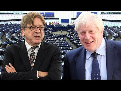 Guy Verhofstadt urges Boris Johnson to be Mrs Doubtfire and not the Hulk, as MEPs attack 'undemocratic' UK