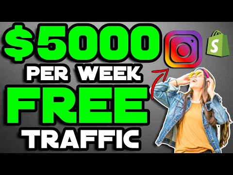 How I Make $5,000/Week on Shopify With FREE Instagram Traffic (2019) | ig |storiesig thumbnail