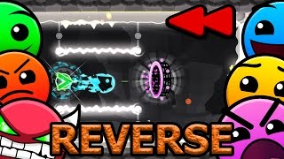 REVERSED Geometry Dash 2.1 All Levels (1-21) [Latest Coins, Reverse]