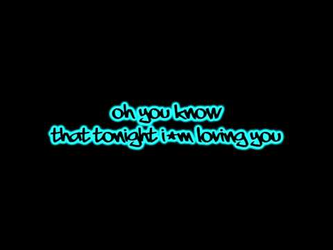 Enrique Iglesia Ft Ludacris - Tonight I'm Loving You - Lyrics