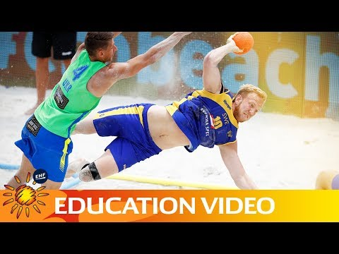 How to attack in beach handball | Education Video | Beach Handball
