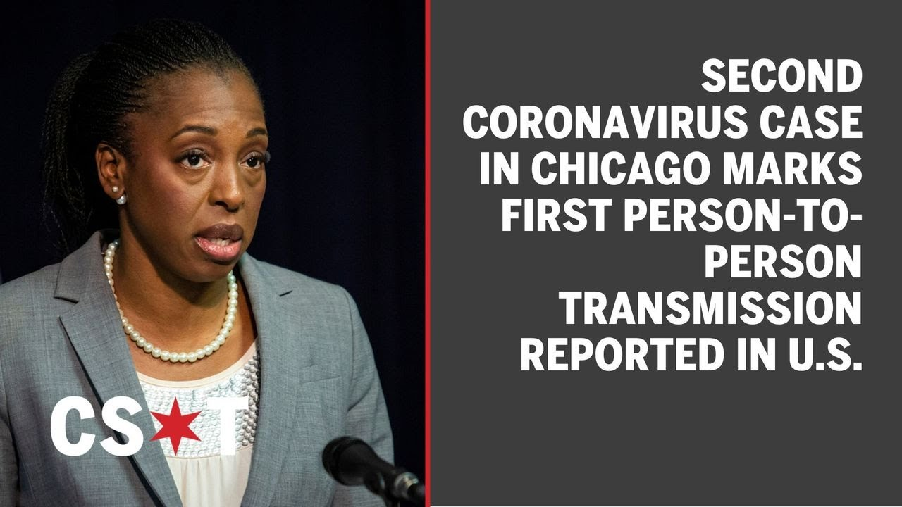 Chicago coronavirus: second case marks first person-to-person ...