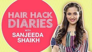 How To: Get A Headband Braid ft. Sanjeeda Shaikh | MissMalini