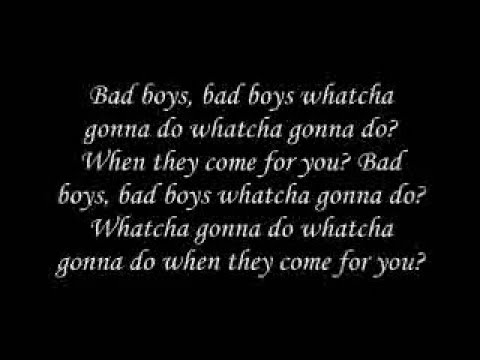 Bob Marley - Bad Boys clip lyrics