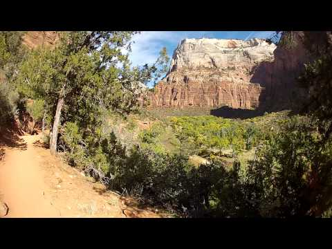 grotto trail Zion NP by sailbumalan