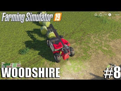 Hay Stacking - Woodshire Timelapse #8 | Farming Simulator 19 Timelapse thumbnail