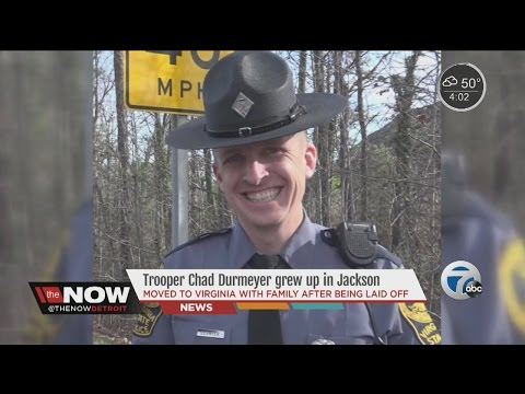 State Police trooper killed in Virginia Greyhound shootings was originally from Jackson