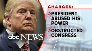 Historic impeachment showdown now in Senate l ABC News
