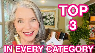 TOP 3 Favorites in EVERY Makeup Category for Over 50 |  Collab with @Lisa Monique Beauty