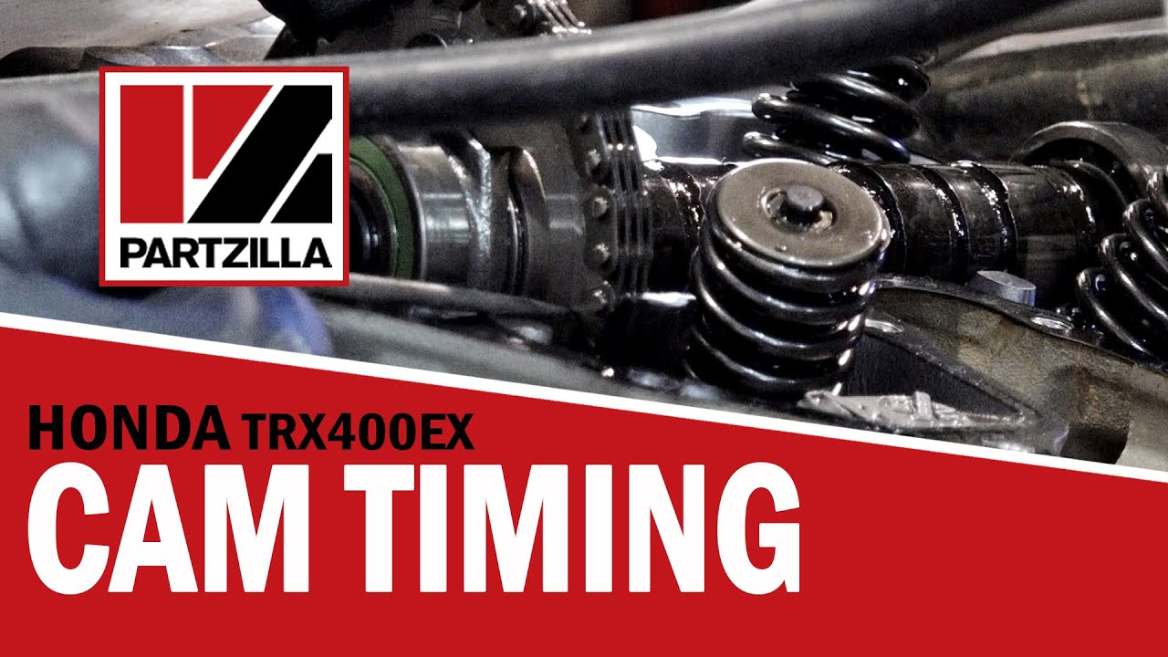 how to set the cam timing on a honda trx 400ex atv partzilla com [ 1280 x 720 Pixel ]