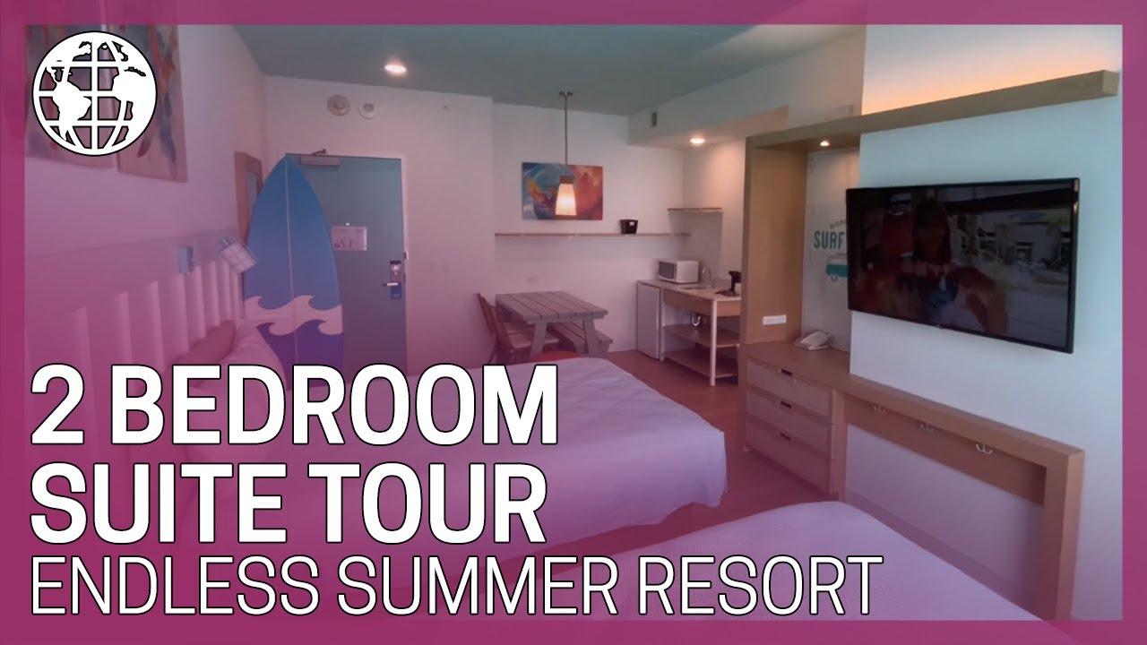 2 Bedroom Suite Tour Universal S Endless Summer Resort Surfside Inn And Suites Youtube