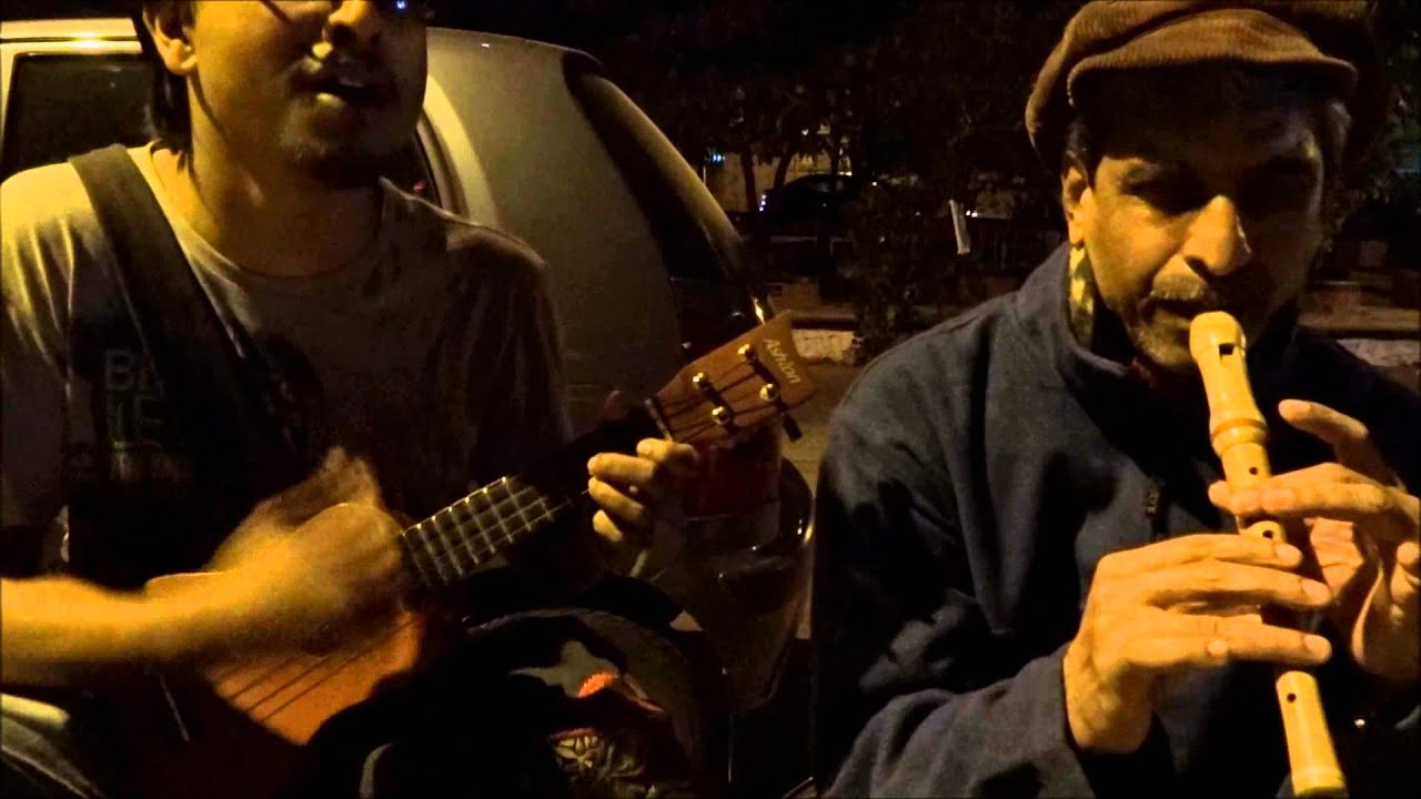 Meet the 'Busking Man', who travels across India to liven up