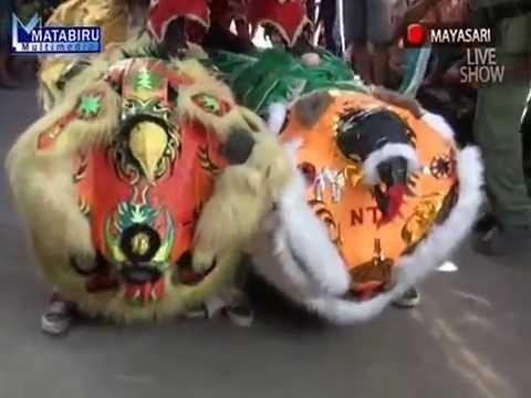 Mustofa (Atraksi Barongsai) Seni Burok Dangdut Mayasari - Live Serangwetan