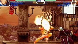 KOF 2002 Arcade Run - Psycho Soldier Team 1/3