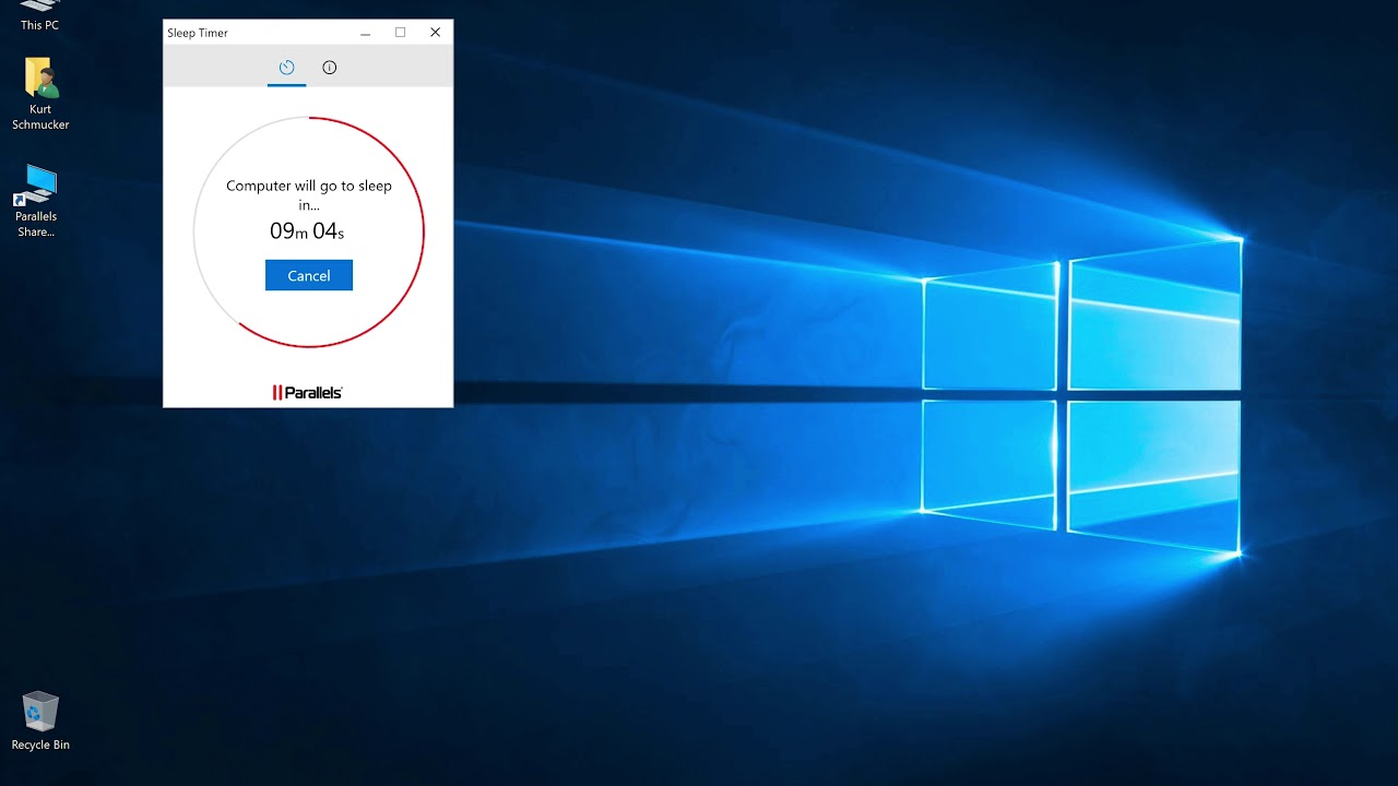 Windows Sleep Timer