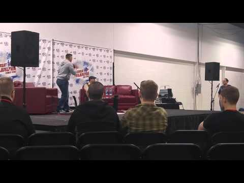 Ray Park's panel end of it